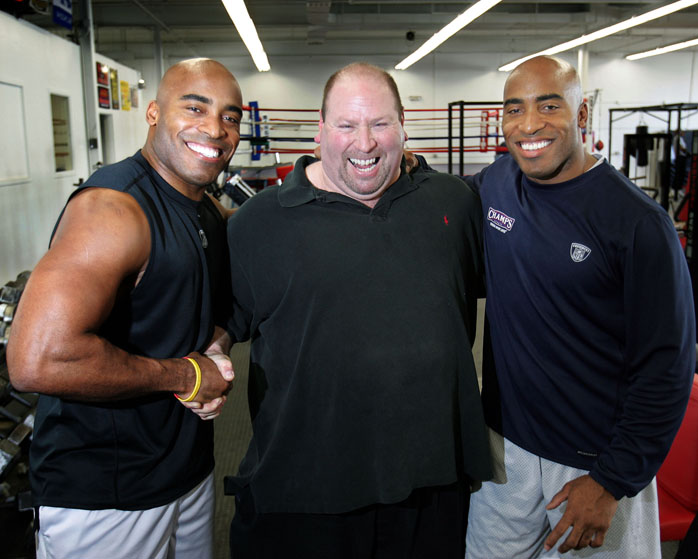 Tiki & Ronde Barber trained with Joe