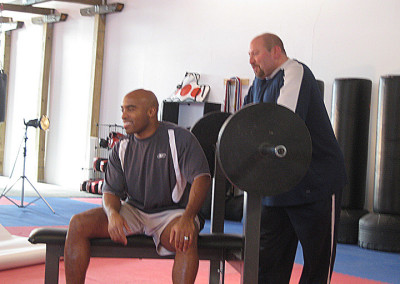 Tiki Barber & Famed Coach, Joe Carini